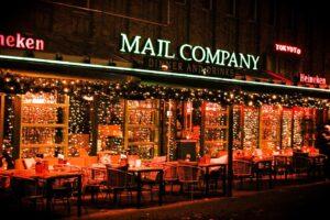 kerst restaurant mail zaandam